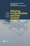 Advances in Classification and Data Analysis