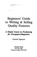 Beginners  Guide to Writing   Selling Quality Features