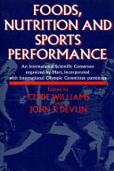 Foods  Nutrition  and Sports Performance