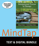 Interpersonal Process in Therapy   Mindtap Counseling  6 month Access