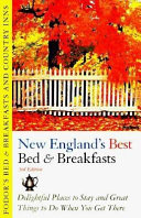 Bed and Breakfasts and Country Inns  New England