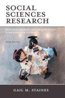 Social Sciences Research