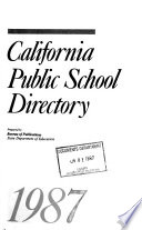 California Public School Directory