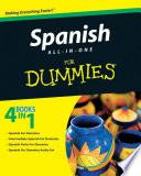 List of Dummies Spanish E-book
