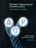 Strategic Organizational Communication Book