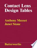 Contact Lens Design Tables