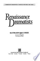 Renaissance Dramatists