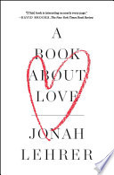 A Book About Love Book