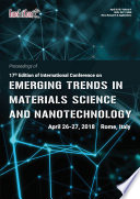 Proceedings of 17th Edition of International Conference on Emerging Trends in Materials Science and Nanotechnology 2018