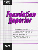 Foundation Reporter 1998
