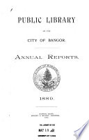 Public Library Of The City Of Bangor