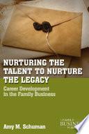 Nurturing the Talent to Nurture the Legacy