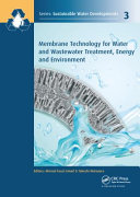 Membrane Technology for Water and Wastewater Treatment  Energy and Environment Book