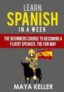 Learn Spanish in a Week