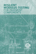 Resilient Modulus Testing for Pavement Components