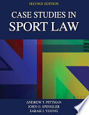 Case Studies in Sport Law-2nd Edition