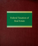 Pdf Federal Taxation of Real Estate