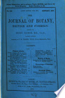 The Journal of Botany, British and Foreign