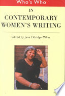 Who S Who In Contemporary Women S Writing Book PDF