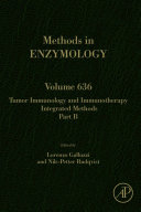 Tumor Immunology and Immunotherapy   Integrated Methods Part B