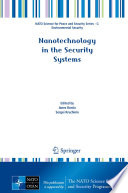 Nanotechnology in the Security Systems Book