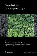 Complexity in Landscape Ecology Book