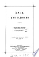 Mary  a tale of humble life