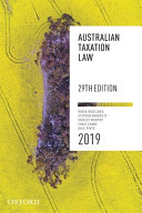 Cover of Australian Taxation Law 2018