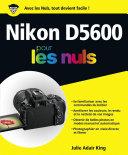 Pdf Nikon D5600 pour les Nuls grand format Telecharger