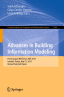 Advances in Building Information Modeling