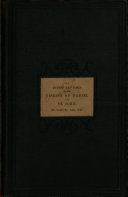 The Events and Times of the Visions of Daniel and St  John  Investigated  Identified and Determined  with Some Remarks on the Character and Use of Metaphors and Symbols