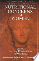 Nutritional Concerns of Women  Second Edition Book