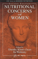 Nutritional Concerns of Women  Second Edition