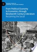 From Political Economy to Economics through Nineteenth Century Literature Book