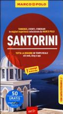 Guida Turistica Santorini. Con atlante stradale Immagine Copertina