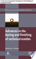 Advances In The Dyeing And Finishing Of Technical Textiles Book PDF