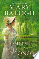 Someone to honor : a Wescott novel