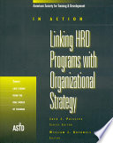 Linking HRD Programs with Organizational Strategy