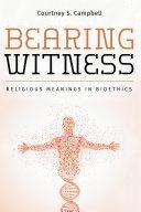 Bearing Witness Pdf/ePub eBook