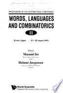 Words, Languages and Combinatorics