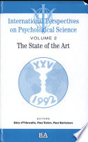 International Perspectives on Psychological Science  The state of the art   state of the art lectures Book PDF