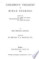 Children s treasury of Bible stories  ed  by G F  Maclean Book PDF