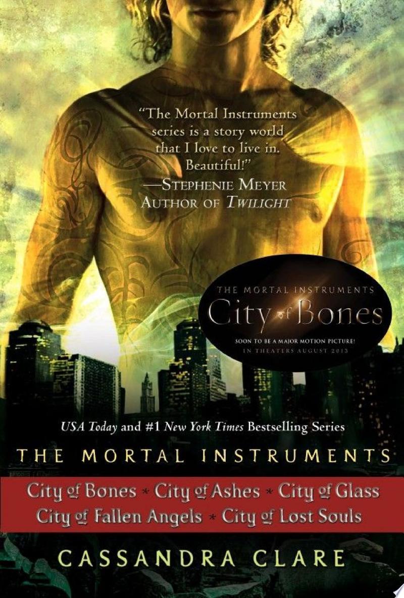 Cassandra Clare: The Mortal Instruments Series (5 books) banner backdrop
