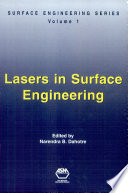 Lasers In Surface Engineering Book PDF