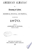 American Almanac and Treasury of Facts  Statistical  Financial  and Political