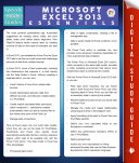 Microsoft Excel 2013 Essentials  Speedy Study Guides