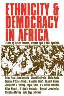 Ethnicity and Democracy in Africa Pdf/ePub eBook