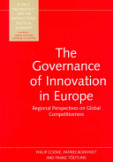 The Governance of Innovation in Europe