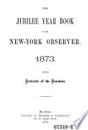 The Jubilee Year book of the New York Observer Book
