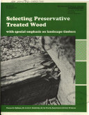 Selecting Preservative Treated Wood